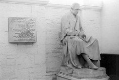 Chantrey's statue of James Watt