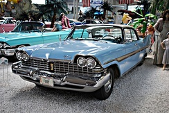 1959 Plymouth Fury four-door hardtop (no B-pillar)