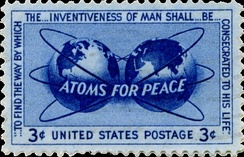 The Atoms for Peace program distributed nuclear technology, materials, and know-how to many less technologically advanced countries.