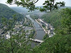 Bad Ems from the Concordia heights