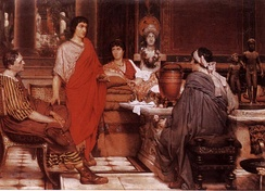 Catullus at Lesbia's by Sir Lawrence Alma-Tadema