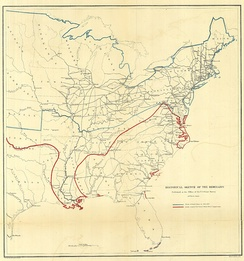 By 1863 the Union controlled large portions of the Western Theater, especially areas surrounding the Mississippi river