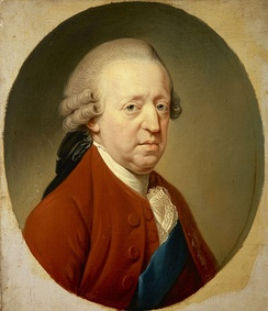 "Charles Edward Stuart in old age; in 1759, he was dismissed by French ministers as ""incapacitated by drink"""