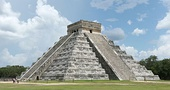 The mayan temple El Castillo, also known as the Temple of Kukulcan, built between 9th and 12th centuries in Yucatán (Mexico)