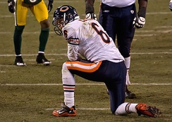 Cutler on January 2, 2011 against the Green Bay Packers.