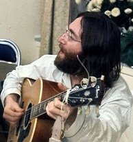 "John Lennon was murdered in 1980 and his song, ""Imagine"", reached number one posthumously.[10]"