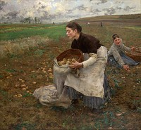 Jules Bastien-Lepage, October, 1878, National Gallery of Victoria