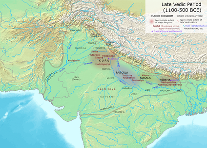 Late Vedic Period
