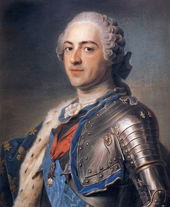 Louis XV ruled France from 1715 to 1774.