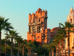 The Twilight Zone Tower of Terror, at Disney's Hollywood Studios