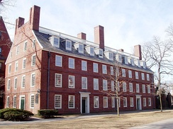 Massachusetts Hall (1720), Harvard's oldest building.[80]