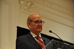 George McGovern speaking at the Richard Nixon Presidential Library and Museum,  2009