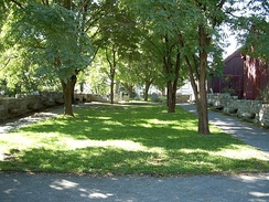 The Salem Witch Trials Memorial Park in Salem