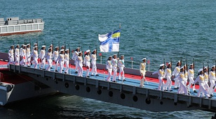 2012 Navy Day joint celebration (Russian AF)