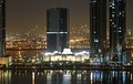 Night view of the New Sharjah Chamber of Commerce