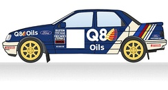 1990 Q8 Ford livery