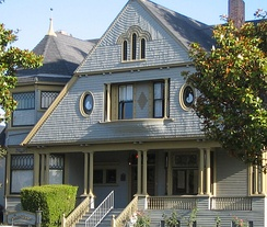 Sargent House, a historic Victorian home on Central Avenue