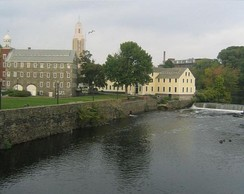 Slater's Mill in Pawtucket, Rhode Island.