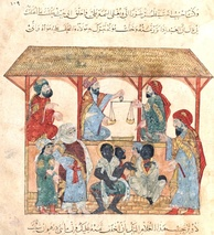 13th-century slave market in Yemen