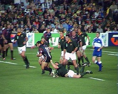 South Africa vs Georgia, 24 October 2003