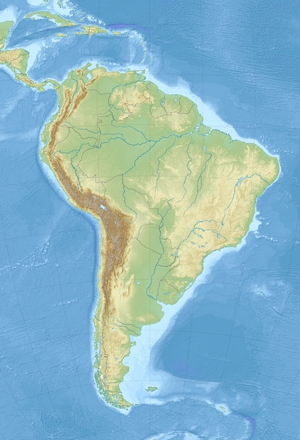 Colubridae is located in South America
