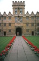 Courtyard of University College Oxford.