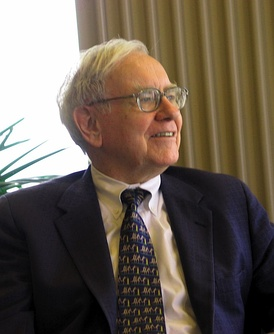Warren Buffett CEO & chairman of Berkshire Hathaway, American investor, business magnate, and philanthropist. He is considered by some to be one of the most successful investors in the world.