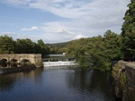 Belper river weirs, retaining walls and sluices to Belper river veirs