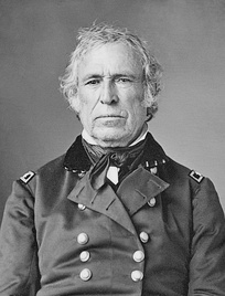 Zachary Taylor served in the Mexican-American War and later won the 1848 presidential election as the Whig nominee