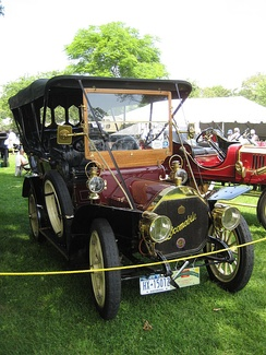 A 1907 Locomobile Type E Touring