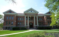 Concordia College in Moorhead, Minnesota is a private, four-year liberal arts college of the Evangelical Lutheran Church in America (ELCA), founded in 1891.