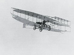 Canada's first powered, heavier-than-air aircraft, the AEA Silver Dart took flight in 1909. The aircraft's military potential piqued the interests of some officers in the Department of Militia and Defence.