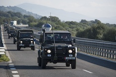 Convoy transfer of Albanian Army.
