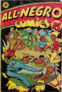 All-Negro Comics #1 (June 1947). Cover artist unknown.
