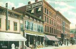 The Berwick House in 1907