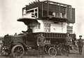 As mobile pigeon loft in WWI