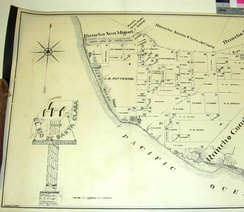 Map of the Rancho El Rio de Santa Clara o la Colonia