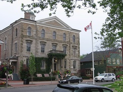 The Court House, a Shaw Festival theatre and Parks Canada headquarters of Niagara National Historic Sites