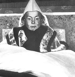 14th Dalai Lama, at his enthronement ceremony, February 22, 1940 in Lhasa, Tibet