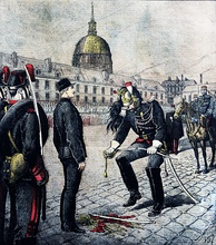 Degradation of Alfred Dreyfus, 1895