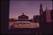 Faneuil Hall and Congress St., 1973