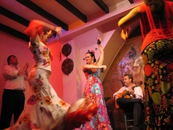 Flamenco dance and music is native to Andalusia.