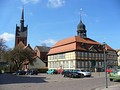 Grabow − Half timbered town hall