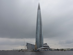 Lakhta Center, the tallest building in Europe