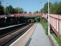 New Pudsey railway station