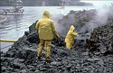 Clean up after the Exxon Valdez oil spill