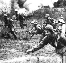 Vietnamese troops in Vietnam War, 1967