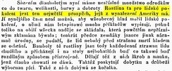 1846 sample of printed Czech