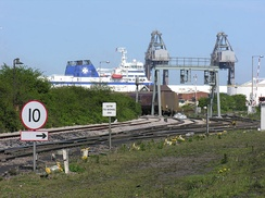 Immingham docks
