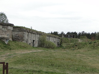 The ruins of the northern forts